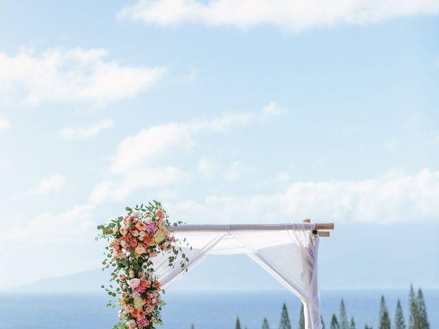 Matthew and Lindsay's Wedding in Lahaina, Hawaii 64