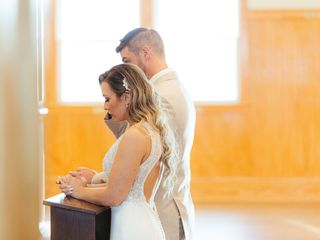 The wedding of Angie and Matt