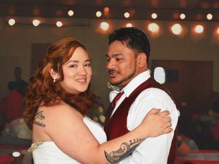 The wedding of Darcie and Jordan