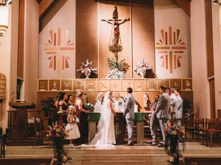 The wedding of Melissa and Bryan 1
