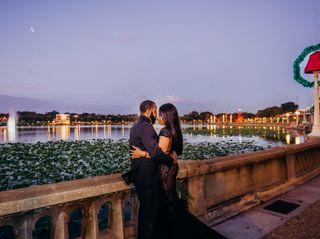 The wedding of Lori and Morio 3