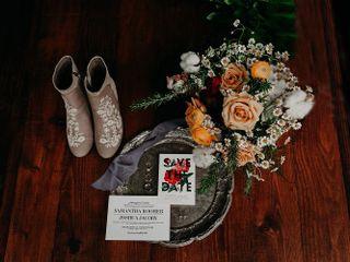 The wedding of Josh and Sam 1