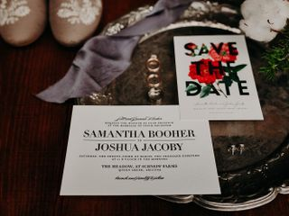 The wedding of Josh and Sam 2