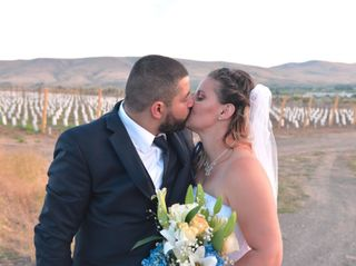 The wedding of Rachel and Alejandro