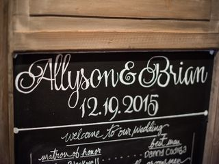The wedding of Brian and Allyson 2