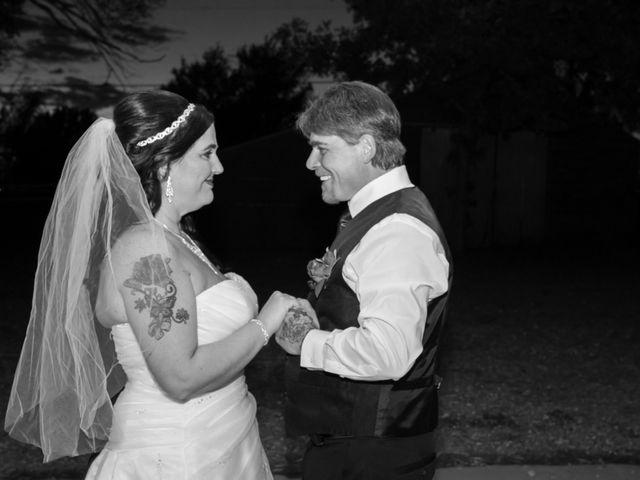The wedding of Nikki and Rodney