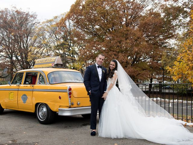 Fritz and Gina's Wedding in New York, New York 44