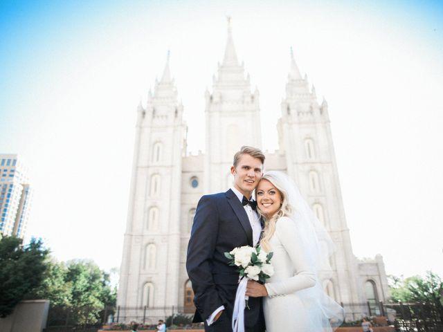 Josh and Emily's Wedding in Salt Lake City, Utah 14