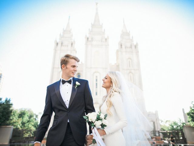 Josh and Emily's Wedding in Salt Lake City, Utah 16