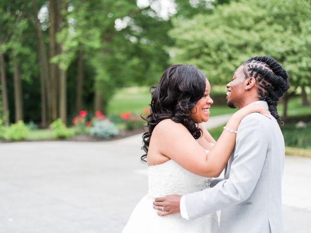 Malcolm and Tenesha's Wedding in Fishers, Indiana 8