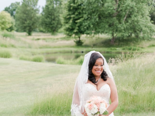 Malcolm and Tenesha's Wedding in Fishers, Indiana 29