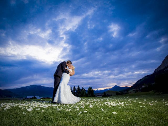 Patrick Knipple and Amy Boyd's Wedding in Crested Butte, Colorado 1