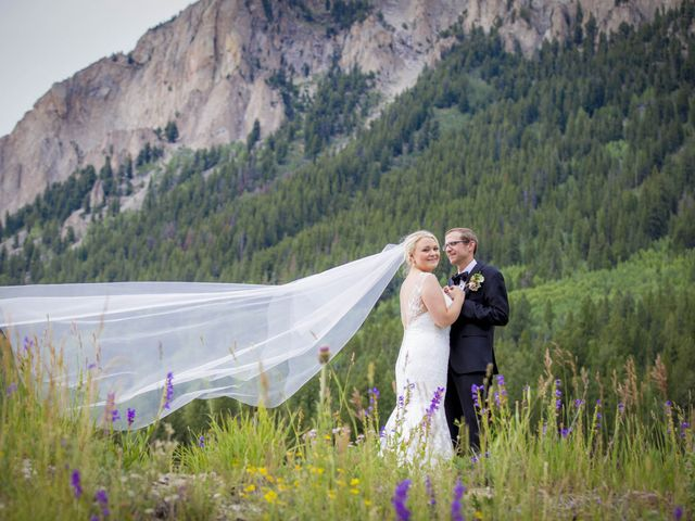 Patrick Knipple and Amy Boyd's Wedding in Crested Butte, Colorado 17
