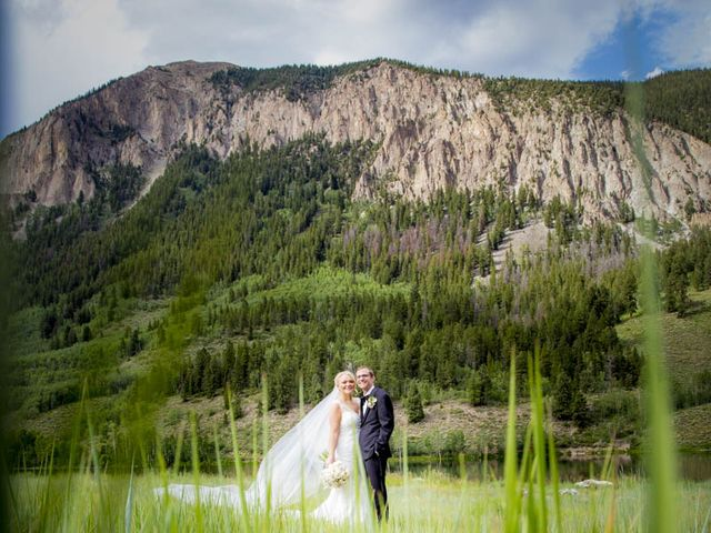 Patrick Knipple and Amy Boyd's Wedding in Crested Butte, Colorado 22