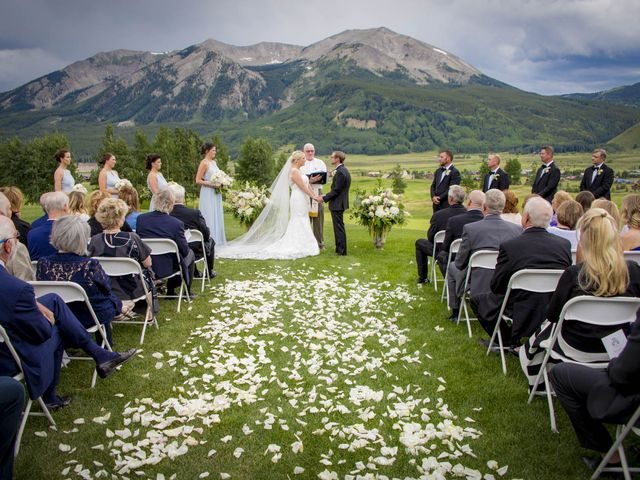 Patrick Knipple and Amy Boyd's Wedding in Crested Butte, Colorado 28