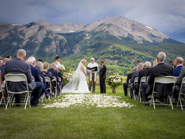 Patrick Knipple and Amy Boyd's Wedding in Crested Butte, Colorado 30