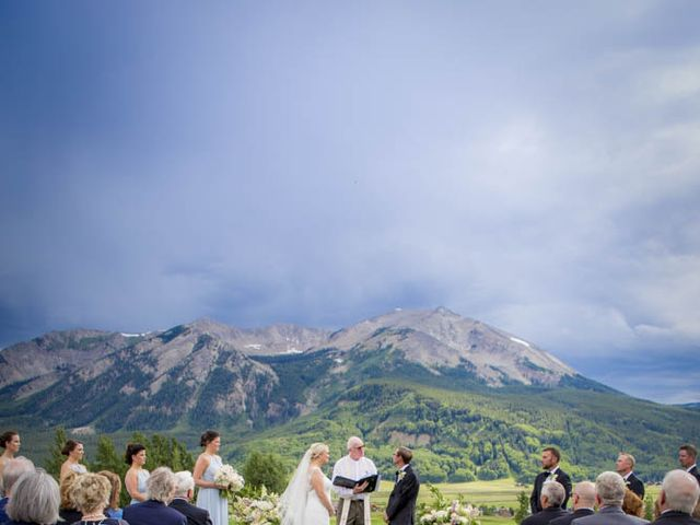 Patrick Knipple and Amy Boyd's Wedding in Crested Butte, Colorado 31