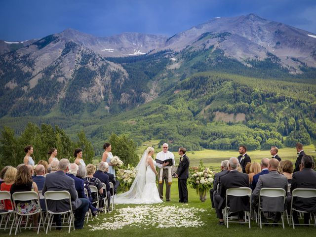 Patrick Knipple and Amy Boyd's Wedding in Crested Butte, Colorado 32