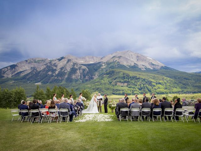 Patrick Knipple and Amy Boyd's Wedding in Crested Butte, Colorado 33