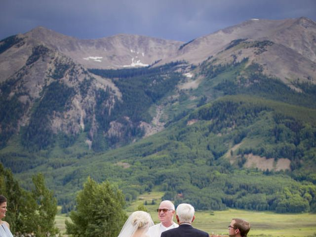 Patrick Knipple and Amy Boyd's Wedding in Crested Butte, Colorado 34