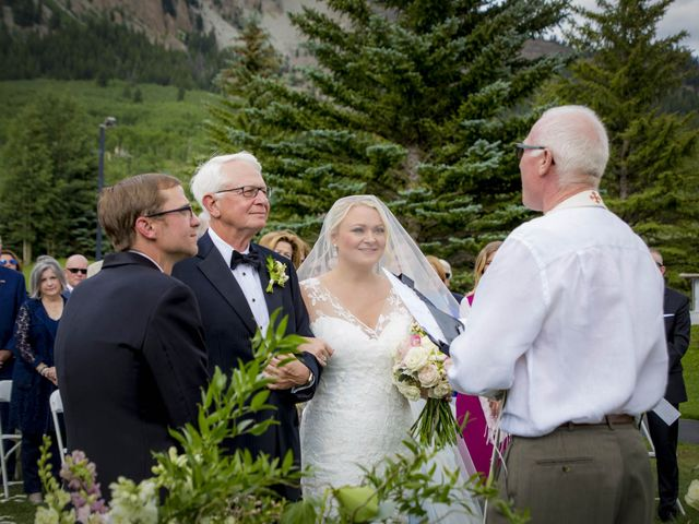 Patrick Knipple and Amy Boyd's Wedding in Crested Butte, Colorado 35
