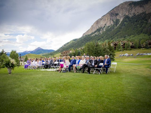 Patrick Knipple and Amy Boyd's Wedding in Crested Butte, Colorado 37