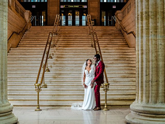 The wedding of Terrance and Ashley