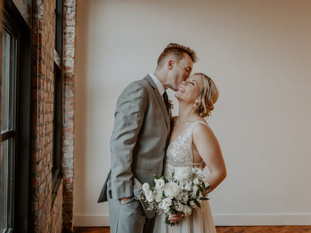 The wedding of Kristen and Evan