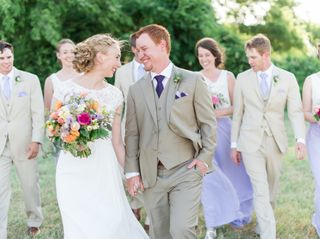 The wedding of Colleen and Nathan