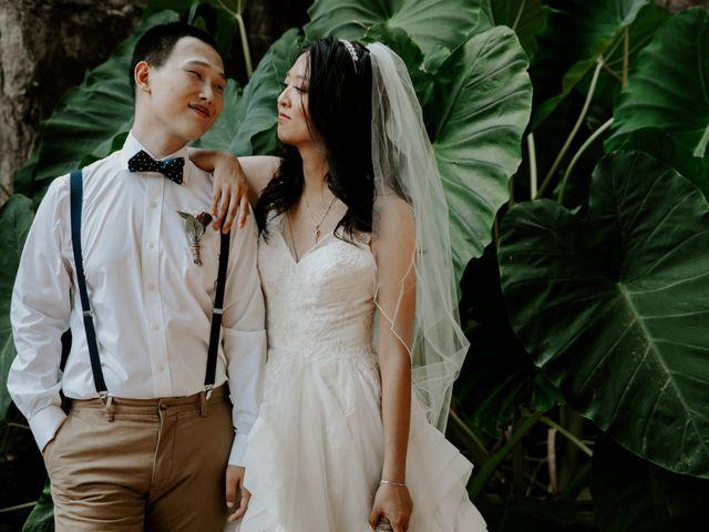 The wedding of Bang and Hana