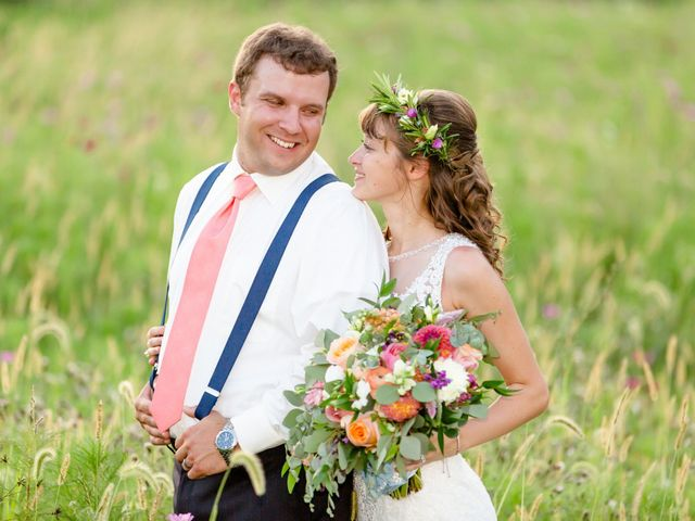 The wedding of Nick and Brittany