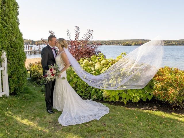 The wedding of Shawnna and Mat