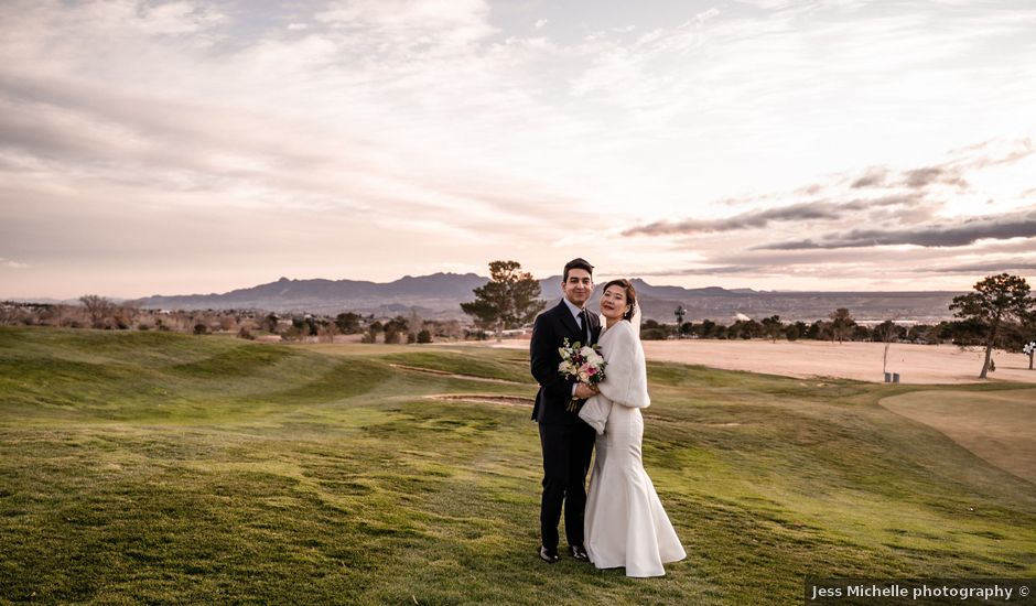 Jesse and Min's Wedding in El Paso, Texas