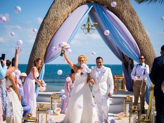 The wedding of Claire Ann Cuarteros  and Rishi Malhan  1