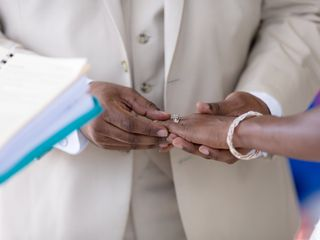 The wedding of Kimoora and Heath 1