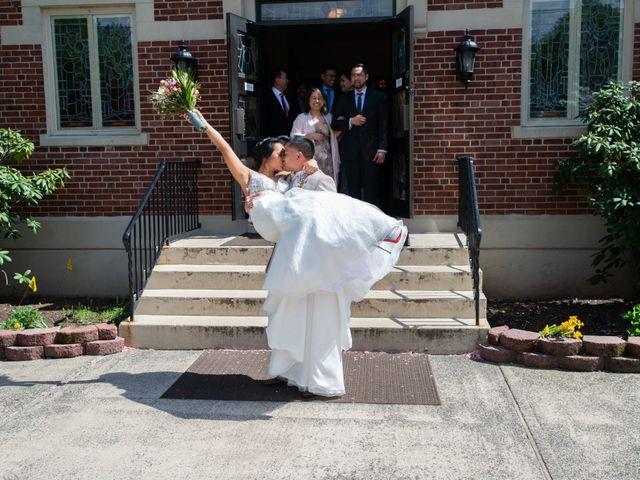 The wedding of Aya and Conrad
