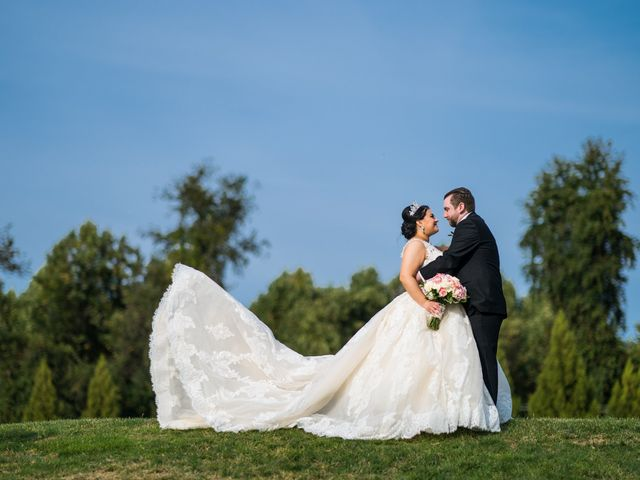 The wedding of Talia and Kevin