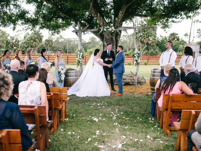 Johnathan and Audra's Wedding in Palm City, Florida 49