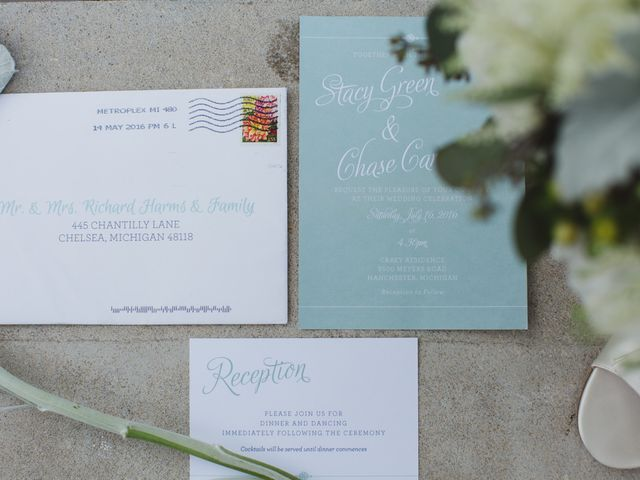 Stacy and Chase's Wedding in Manchester, Michigan 1