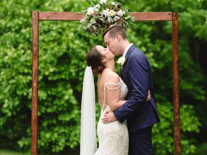 The wedding of Mary and Scott