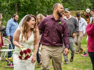The wedding of Kayla and Rob
