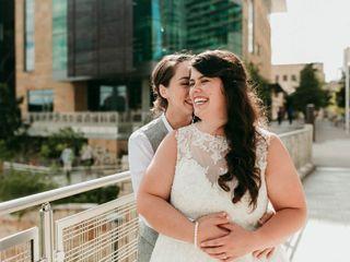 The wedding of Dewilyn and Alex