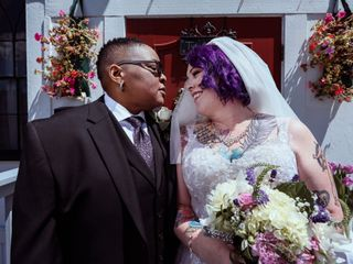 The wedding of Tye and Gail