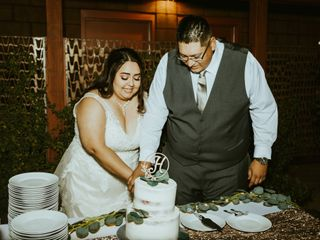 The wedding of Whitney and Brad 1