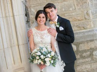 The wedding of Maggie and Matt