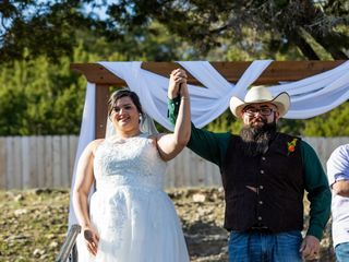 The wedding of Adam and Angela
