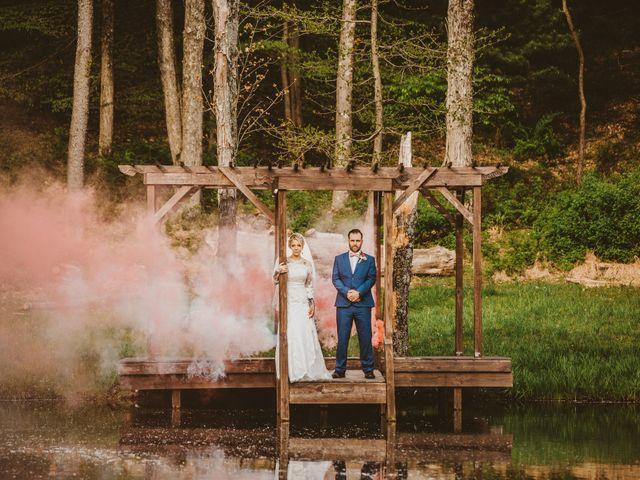 The wedding of Natalie and Brandon