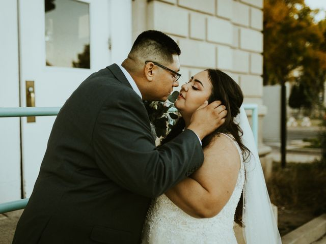 The wedding of Whitney and Brad