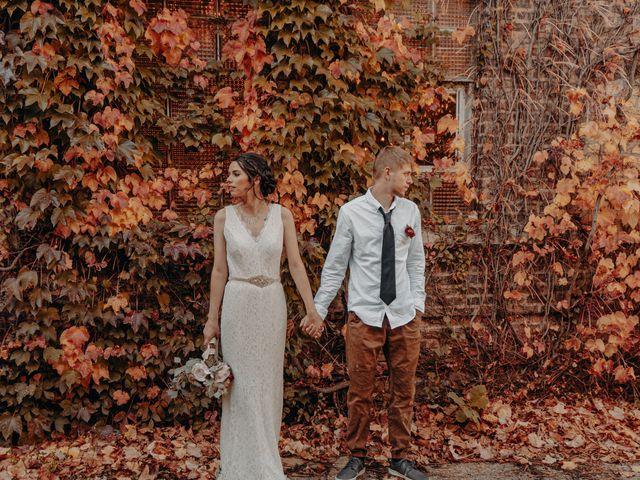 The wedding of Tyler and Katie
