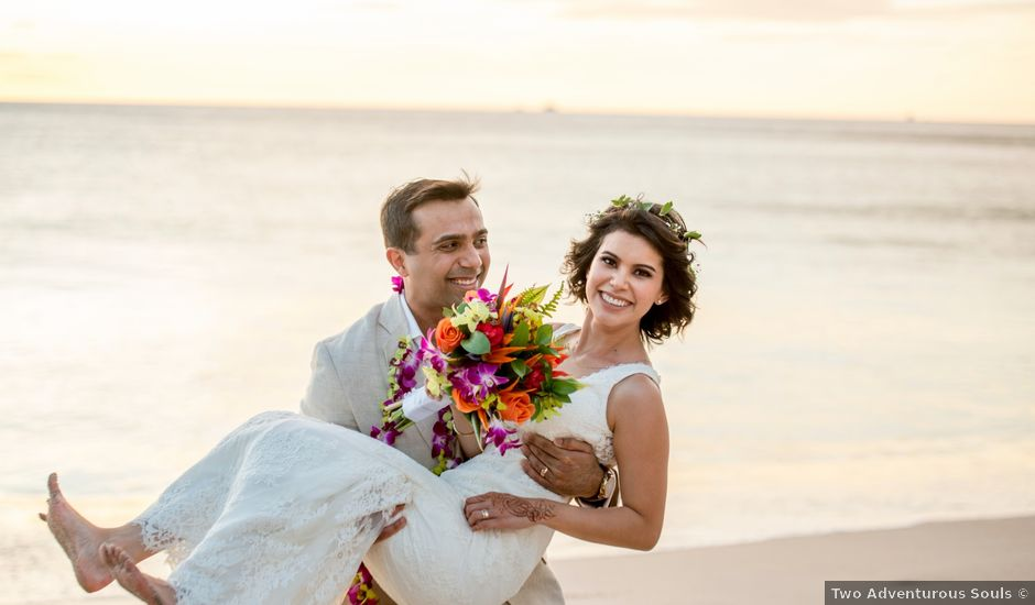 Moonis and Carolina's Wedding in Tamarindo, Costa Rica